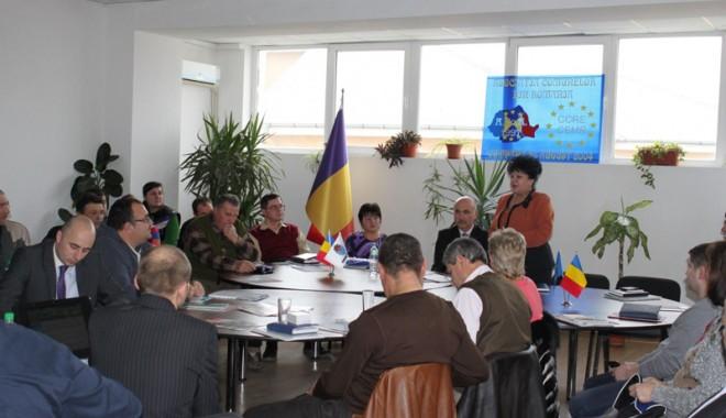 Foto: Conducerea CCINA s-a întâlnit cu oamenii de afaceri din Agigea şi Cumpăna