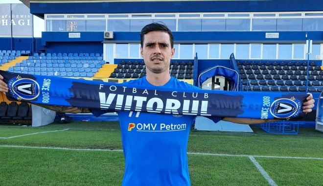 Foto: Întăriri din Serie A! FC Viitorul l-a transferat pe Adrian Stoian
