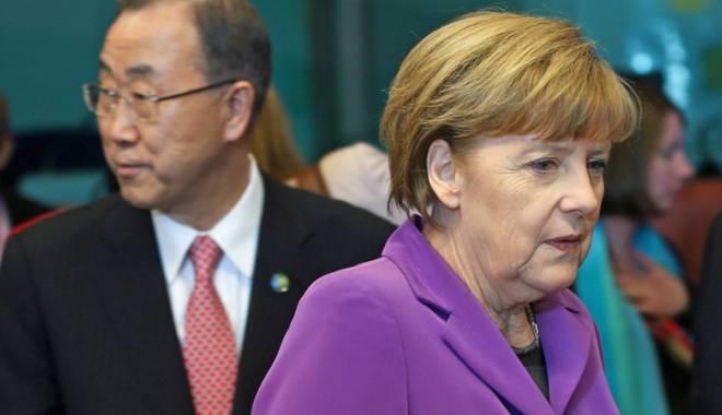 Foto: Dezvăluiri incendiare! Angela Merkel şi secretarul general  al ONU, interceptaţi de americani