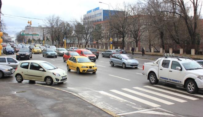 """Foto: Două noi sensuri giratorii importante în Constanţa. """"Vom muta trecerile de pietoni!"""""""