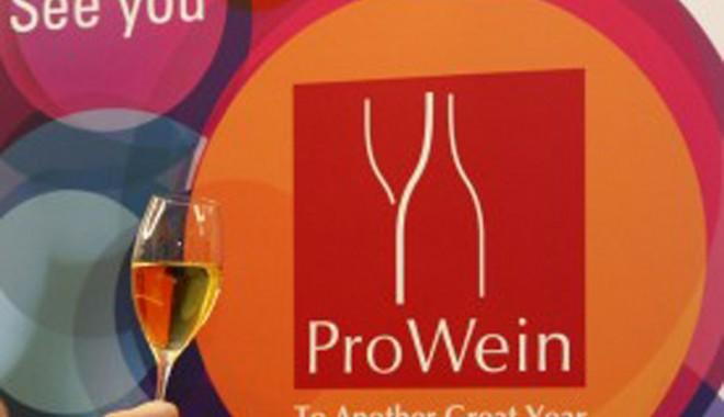 Foto: Invazie de vinuri româneşti la Târgul internaţional PROWEIN, din Düsseldorf