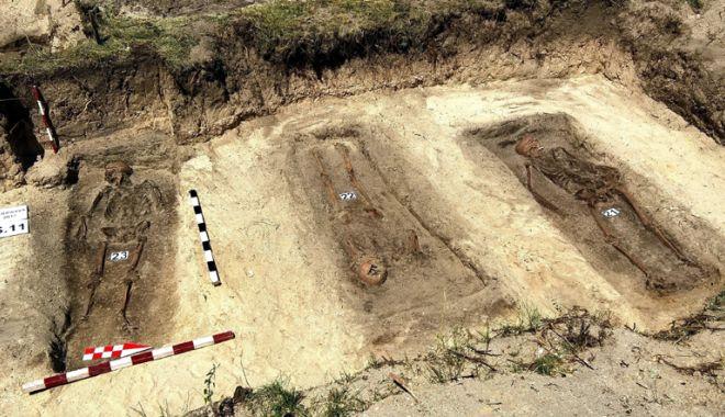 Foto: Investigaţii arheologice la Periprava. Sunt căutate rămăşiţele deţinuţilor politici