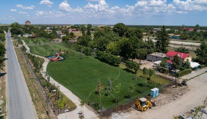 Investiții cu fonduri europene la Negru Vodă. A fost inaugurat noul parc de 15.000 mp - investitiinegruvoda2-1568144040.jpg