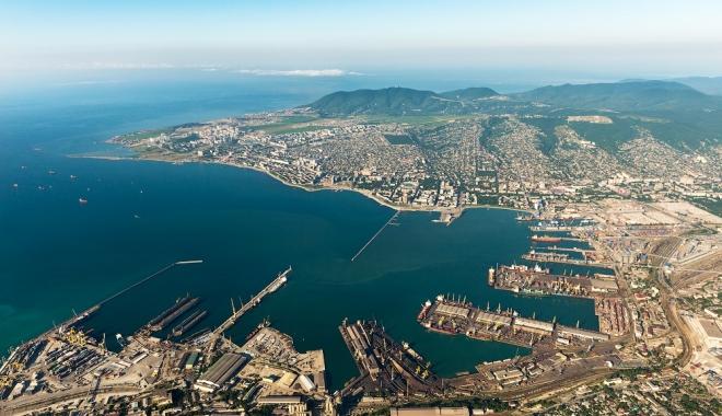 Foto: Investiţii în portul Novorossiysk, de la Marea Neagră