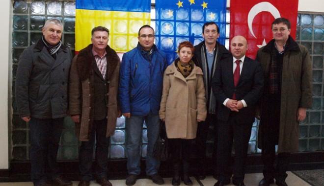 Foto: Investitori turci interesaţi de Medgidia. Primarul Marian Iordache promite 400 de locuri de muncă