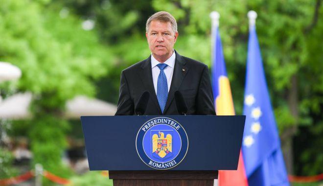 """Foto: Klaus Iohannis: """"Mulți se așteptau ca mandatul României să fie mediocru"""""""