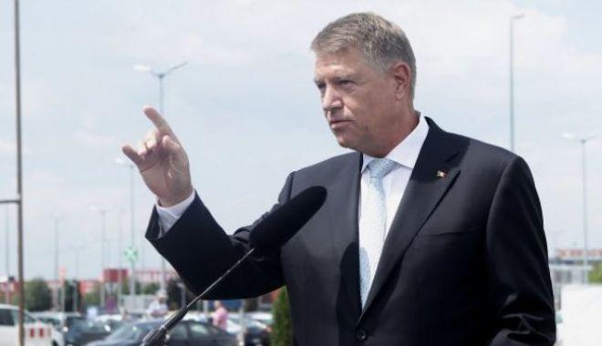 """Foto: Klaus Iohannis: """"S-a ales praful de promisiunile PSD, guvernarea este un eşec de la un capăt la altul"""""""
