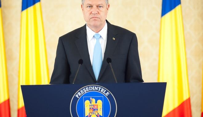 Foto: Klaus Iohannis solicită acordul pentru un detaşament de contrainformaţii NATO