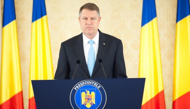 """Foto: Klaus Iohannis: """"Am solicitat PSD-ului să termine repede această criză"""""""