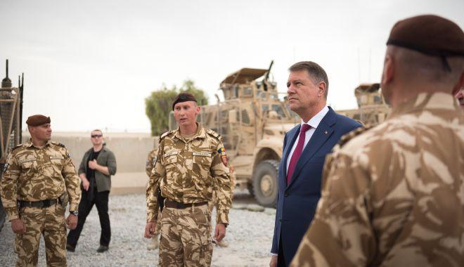 Iohannis: Militarii români - adevărați ambasadori ai României - iohannisafganistanromanianato-1573470269.jpg