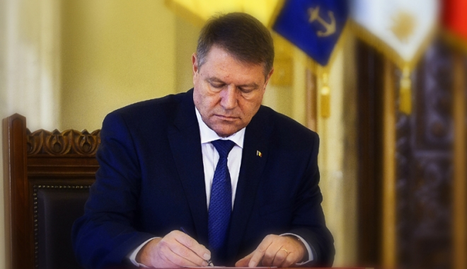 Foto: Legea privind executarea pedepselor, promulgată de preşedintele Iohannis