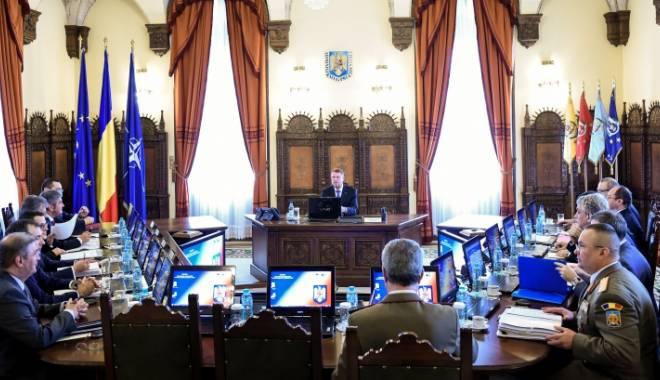 Foto: Consiliul Suprem de Apărare a Țării se reuneşte. Iată când