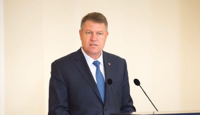 Foto: Klaus Iohannis:  În politica externă a României nu este loc de amatorism