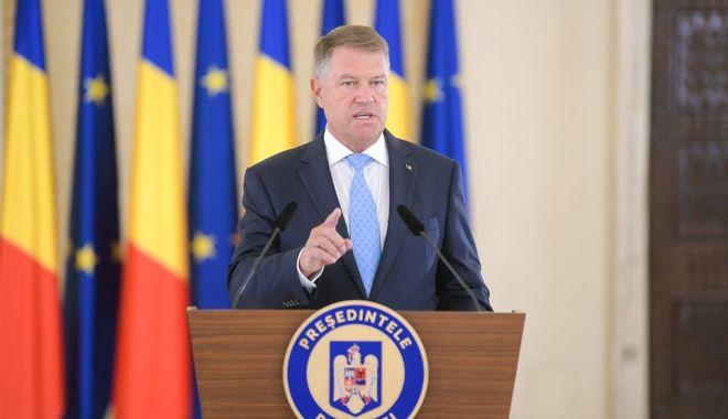 Foto: Klaus Iohannis: Trebuie să ținem cont de deteriorarea relațiilor dintre NATO și Rusia