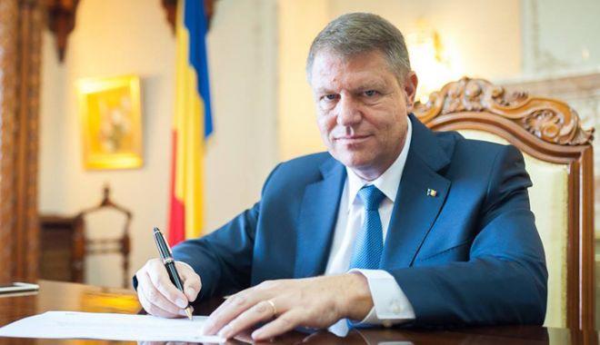 Klaus Iohannis a promulgat mai multe legi importante - iohannislegi-1620410456.jpg