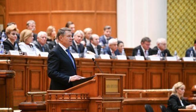 Foto: LIVETEXT / Şeful statului a anunțat cele două teme de la referendum