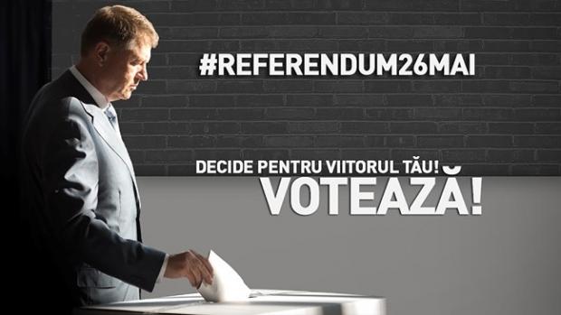 Foto: Klaus Iohannis, anunţ important pe Facebook despre referendum