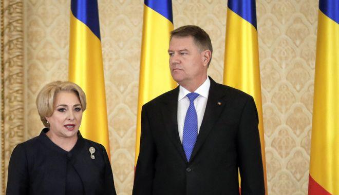 Foto: Președintele Iohannis, întâlnire cu premierul Viorica Dăncilă