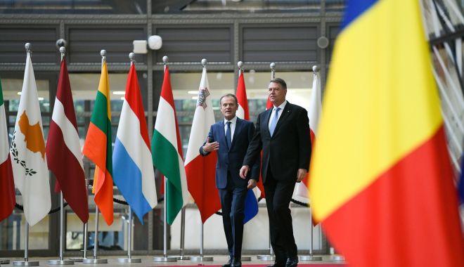 Foto: Liderii UE au adoptat Declaraţia de la Sibiu. Iată ce semnifică