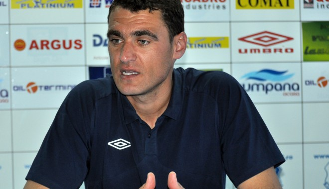 Foto: Fotbal / Ion Barbu vrea să ia toate cele trei puncte în meciul cu Slobozia