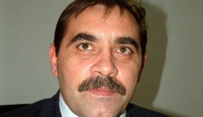Foto: Ionel Truşan, şeful Gărzii  de Coastă, a ieşit la pensie.