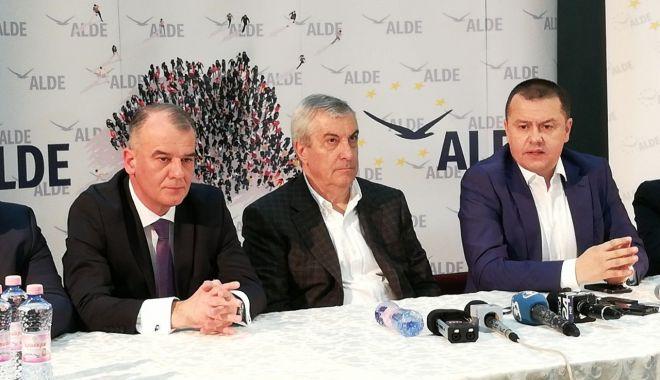 Foto: ALDE Constanța susține candidatura lui Călin Popescu Tăriceanu la alegerile prezidențiale