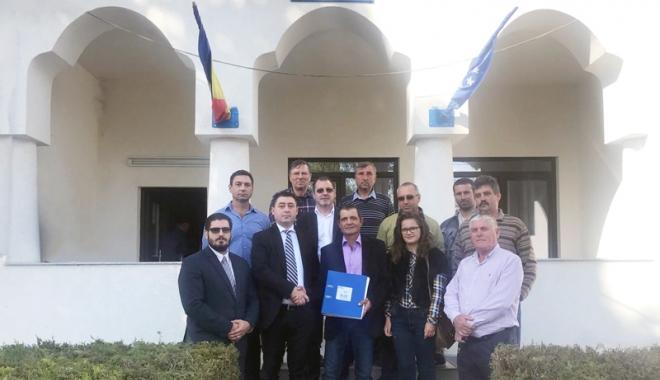Foto: Ion Vasilache, candidatul ALDE la Primăria Bărăganu