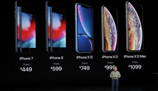 Foto: Primele probleme ale noilor telefoane Apple: iPhone XS, iPhone XS Max şi iPhone Xr