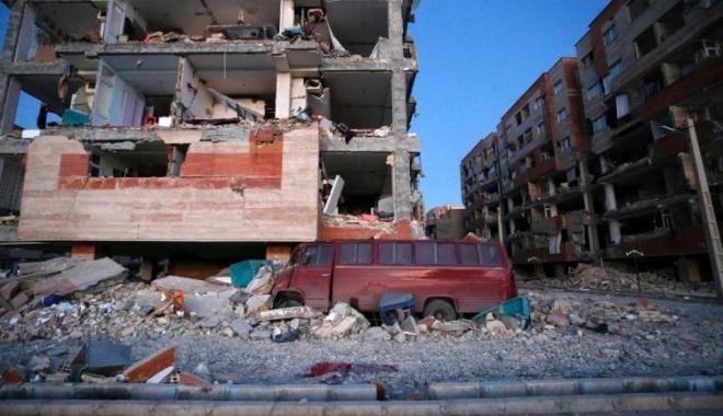 Foto: 328 de morți și 4000 de răniți în Iran, după cutremurul produs la granița cu Irakul