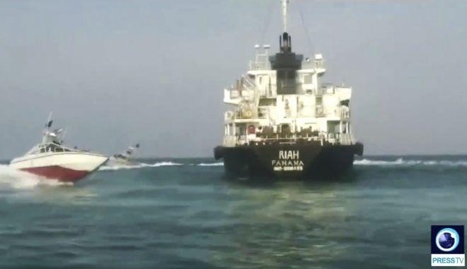 Iranul a eliberat nouă marinari indieni de pe nava
