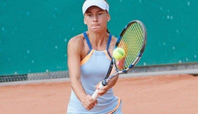 Foto: Tenis, WTA Rabat: Irina Bara, eliminată de Polona Hercog în primul tur