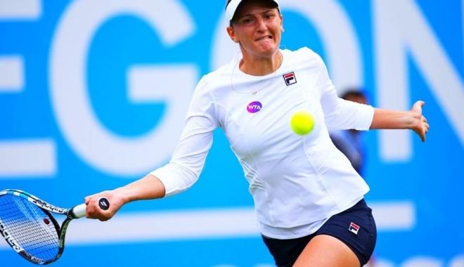 Foto: Tenis / Irina Begu, învinsă de Șarapova la Tianjin