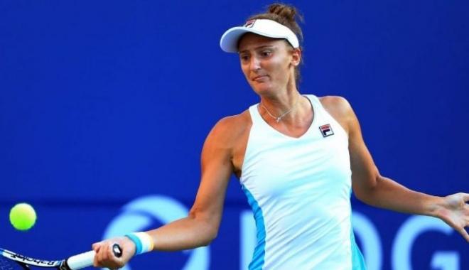 Foto: Irina Begu, calificată în sferturi la Moscova, după o victorie importantă în fața Anastasijei Sevastova