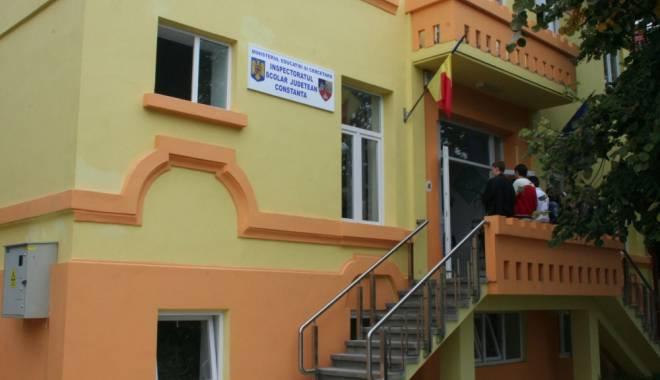 Foto: DEMISIE ŞOC la vârful Inspectoratului Şcolar Constanţa