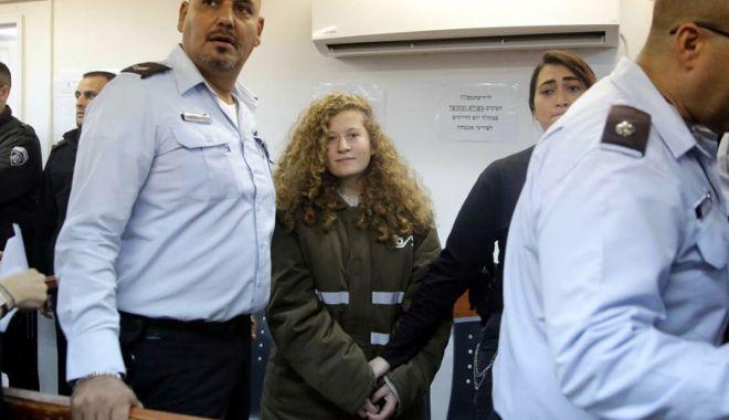 Israelul a eliberat-o din închisoare pe tânăra palestiniană care a lovit un soldat - israelulaeliberat-1532868168.jpg