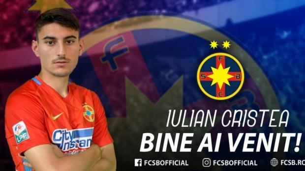 Foto: Iulian Cristea, prezentat oficial de FCSB. Primele declaraţii