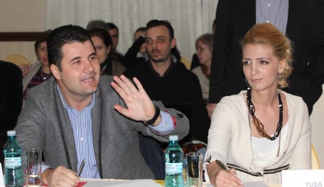 Foto: Sorina Tuşa preia conducerea şedinţelor Consiliului Local Constanţa