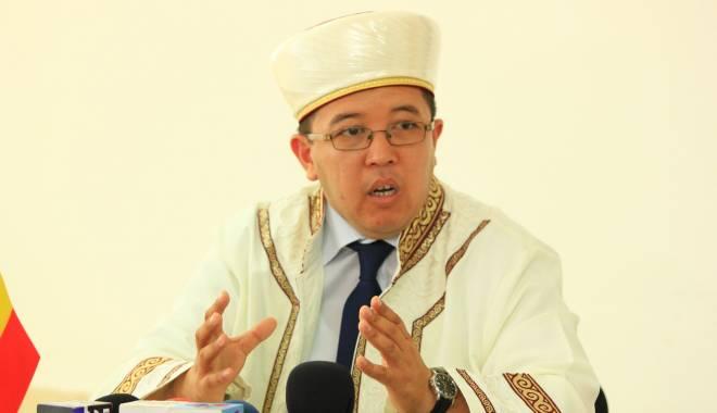 Foto: Muftiul României Muurat Iusuf: Islamul interzice ferm uciderea oricărui suflet