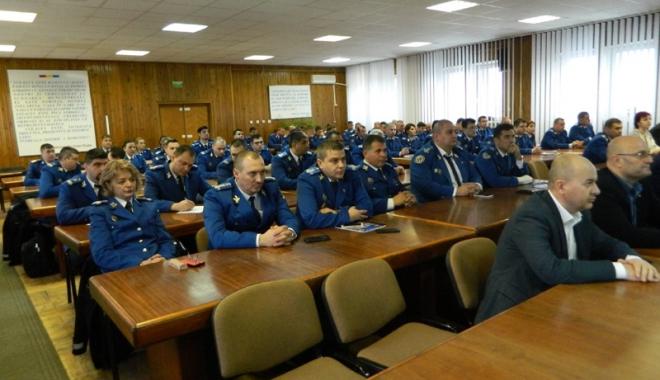 Foto: Jandarmii din Constanța, la ora bilanțului pe 2017