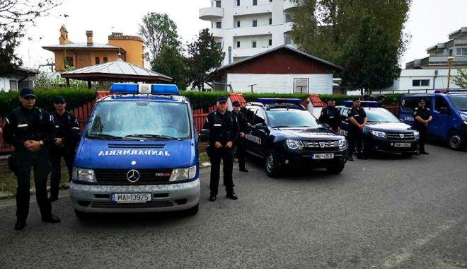 Foto: Jandarmii constănţeni, la datorie în week-end. Iată ce evenimente importante au loc