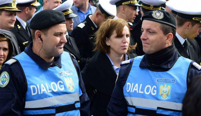 Foto: Jandarmii constănţeni, la datorie, în week-end