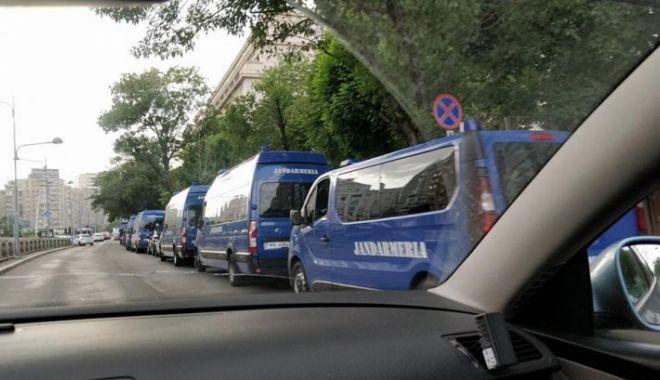 Prima reacţie a Jandarmeriei după ce trupele antitero au fost fotografiate la protestul de sâmbătă