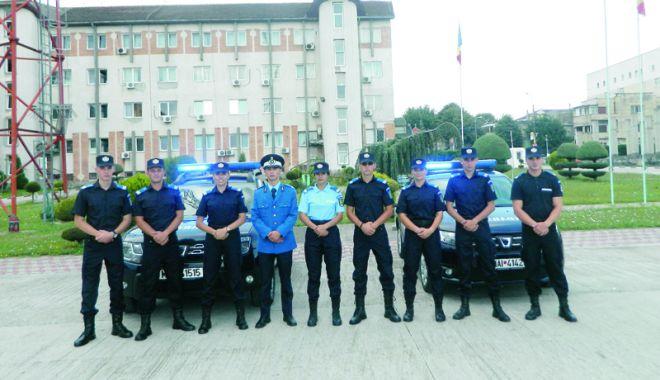 Foto: Forţe proaspete la Inspectoratul de Jandarmi Judeţean Constanţa