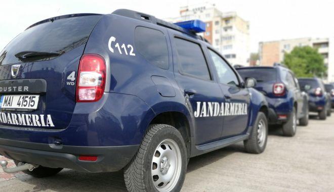 Foto: Jandarmii constănţeni, pe străzi, la evenimentele publice din week-end