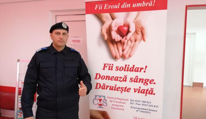Jandarmii constănţeni au donat sânge pentru semenii lor - jandarmiiconstanteni1-1560455818.jpg