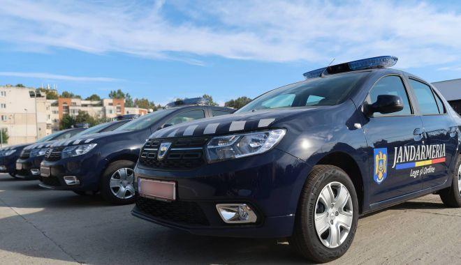 Foto: Jandarmii constănţeni au primit patru autospeciale noi