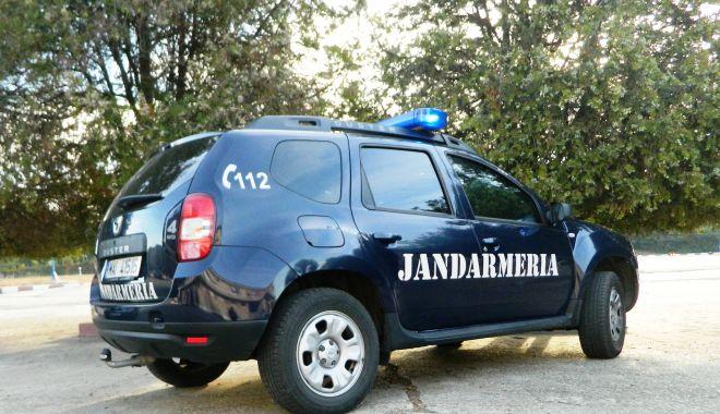 Foto: Jandarmii asigură ordinea publică la evenimentele din week-end