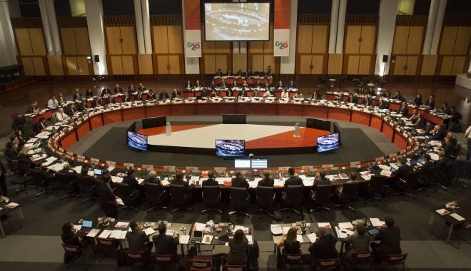 Foto: Membrii G20 vor majorarea PIB-ului cu 2.000 de miliarde dolari