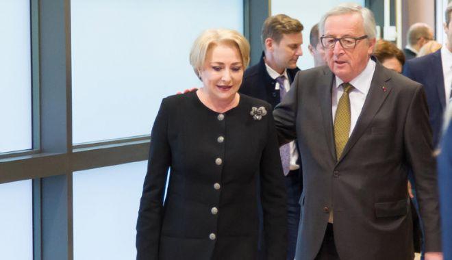 """Foto: Jean-Claude Juncker: """"Sper  ca România să devină membru al spațiului Schengen"""""""