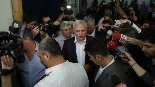 Foto: Liviu Dragnea a votat şi la europarlamentare, şi la referendum